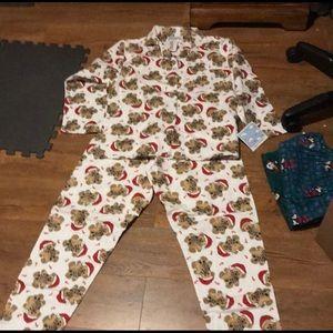 Other - Teddy bear Christmas pajamas